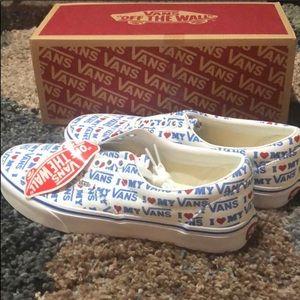 Brand new in box Vans